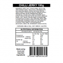 Chilli Jerky Ingredients and Nutritional Information