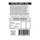 Piri Piri Jerky Ingredients and Nutritional Information