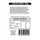 Original / Safari Jerky Ingredients and Nutritional Information